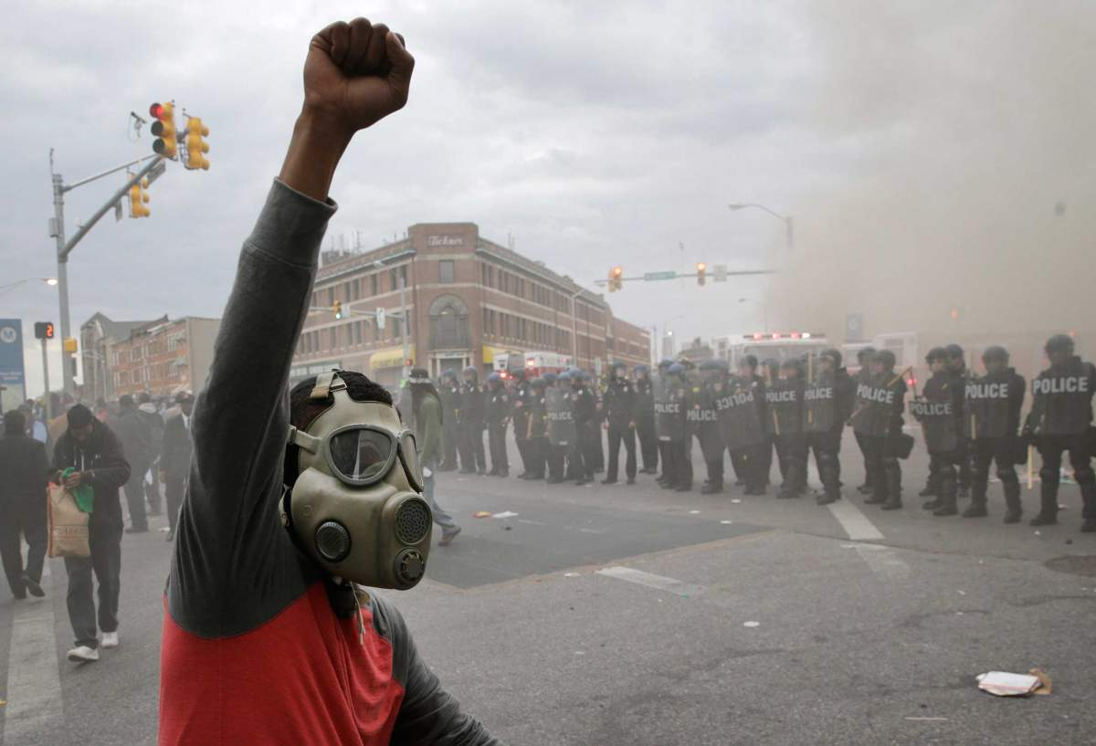 Baltimore Uprising, 2015